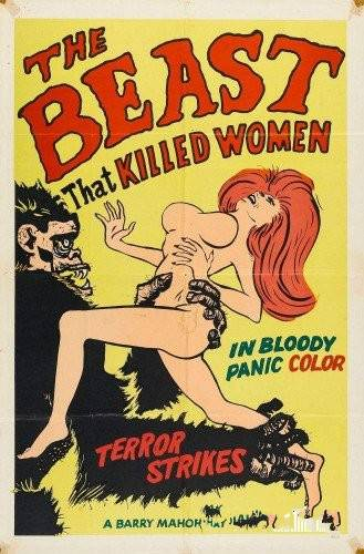 Nudist Videos-The Beast That Killed Women 1965 - Poster