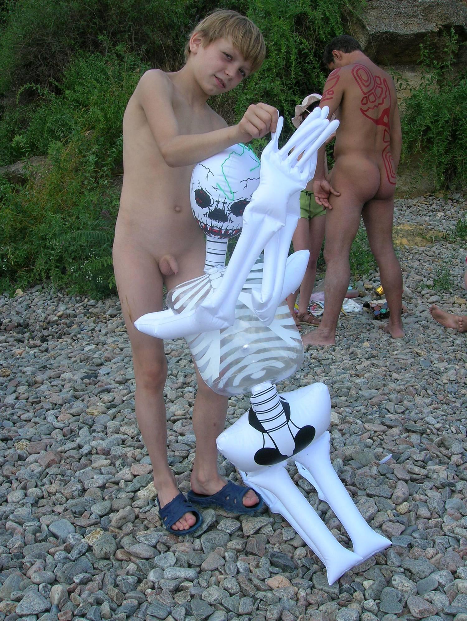 Purenudism Pics-The Naturist Ghost Dance - 2