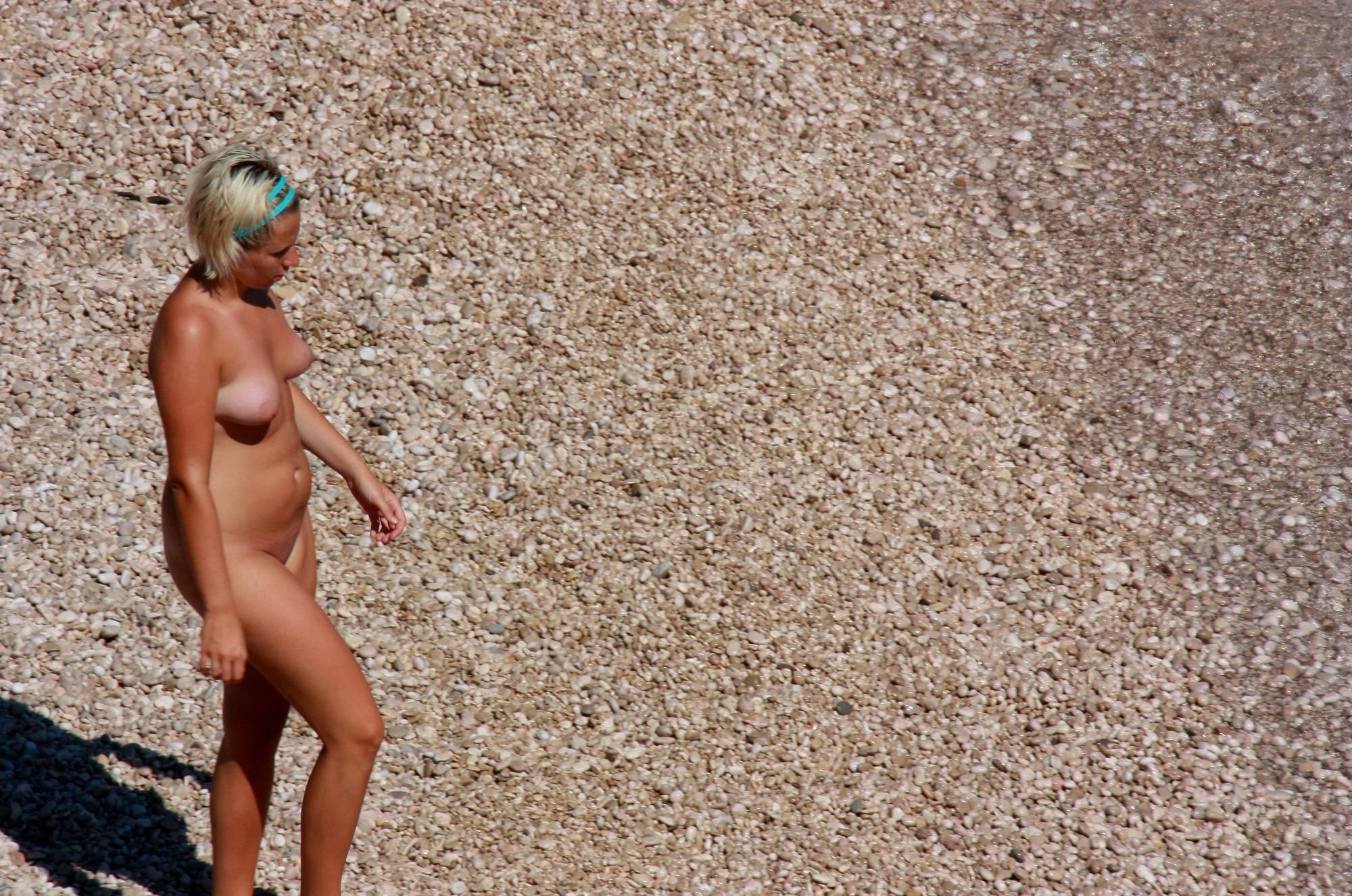 Purenudism Photos-Two Girl Friends on Beach - 1