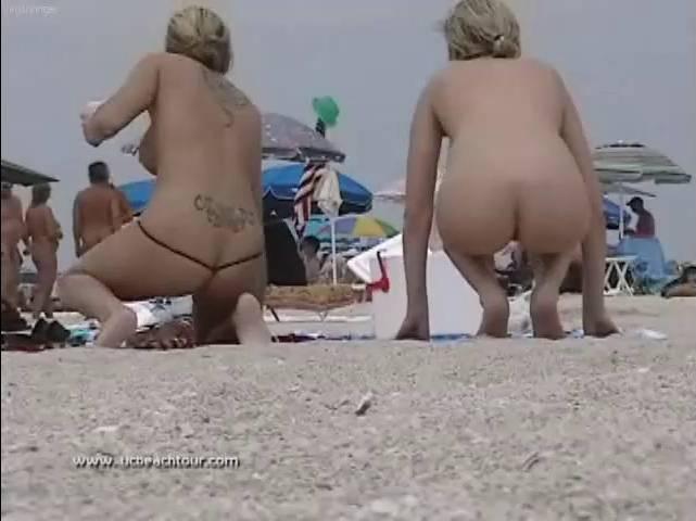 Nudist Movies-U.S. Nude Beaches Vol. 19 - 2