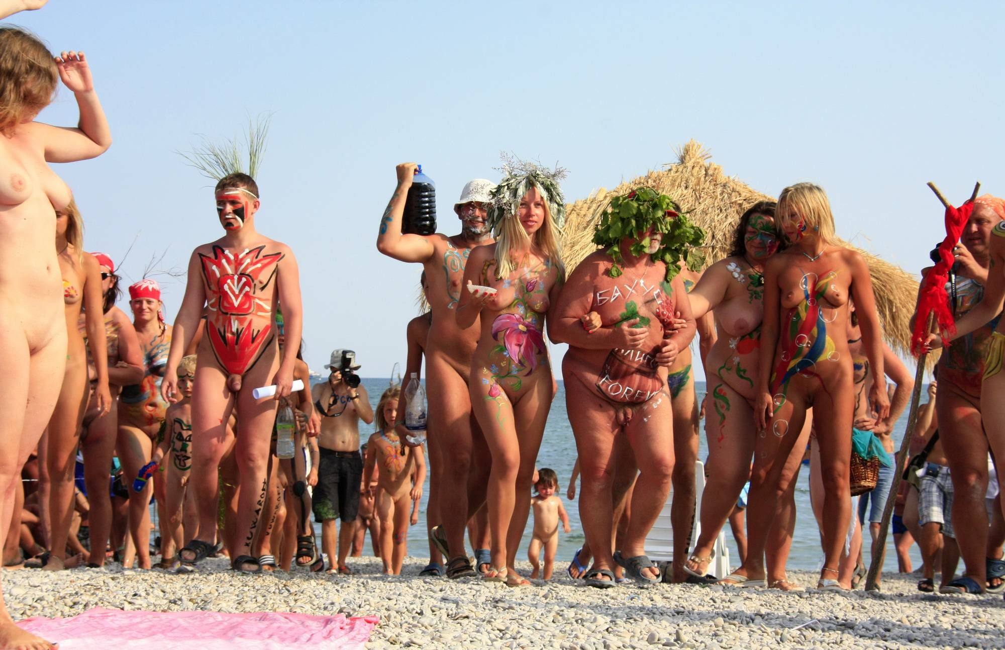 Pure Nudism Gallery-Ukrainian Circle Dance Day - 4