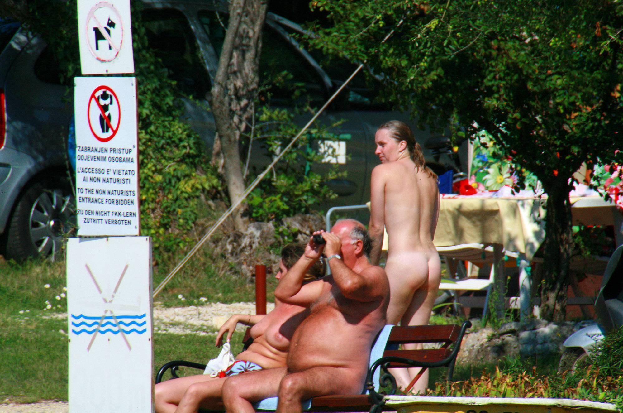 Purenudism Photos-Ula FKK Couple's Shower - 2