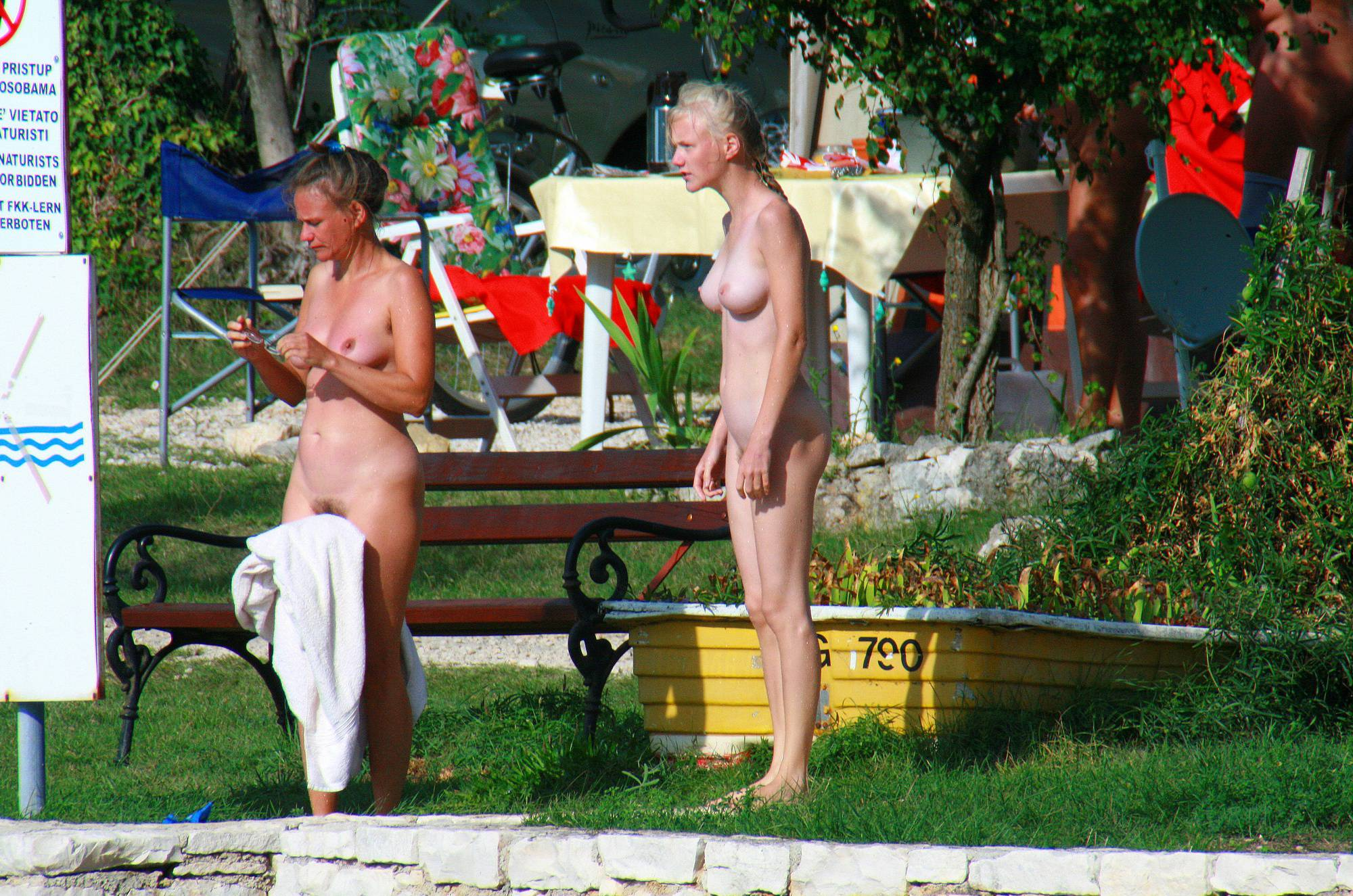 Pure Nudism Images-Ula FKK Mother and Girl Tour - 3