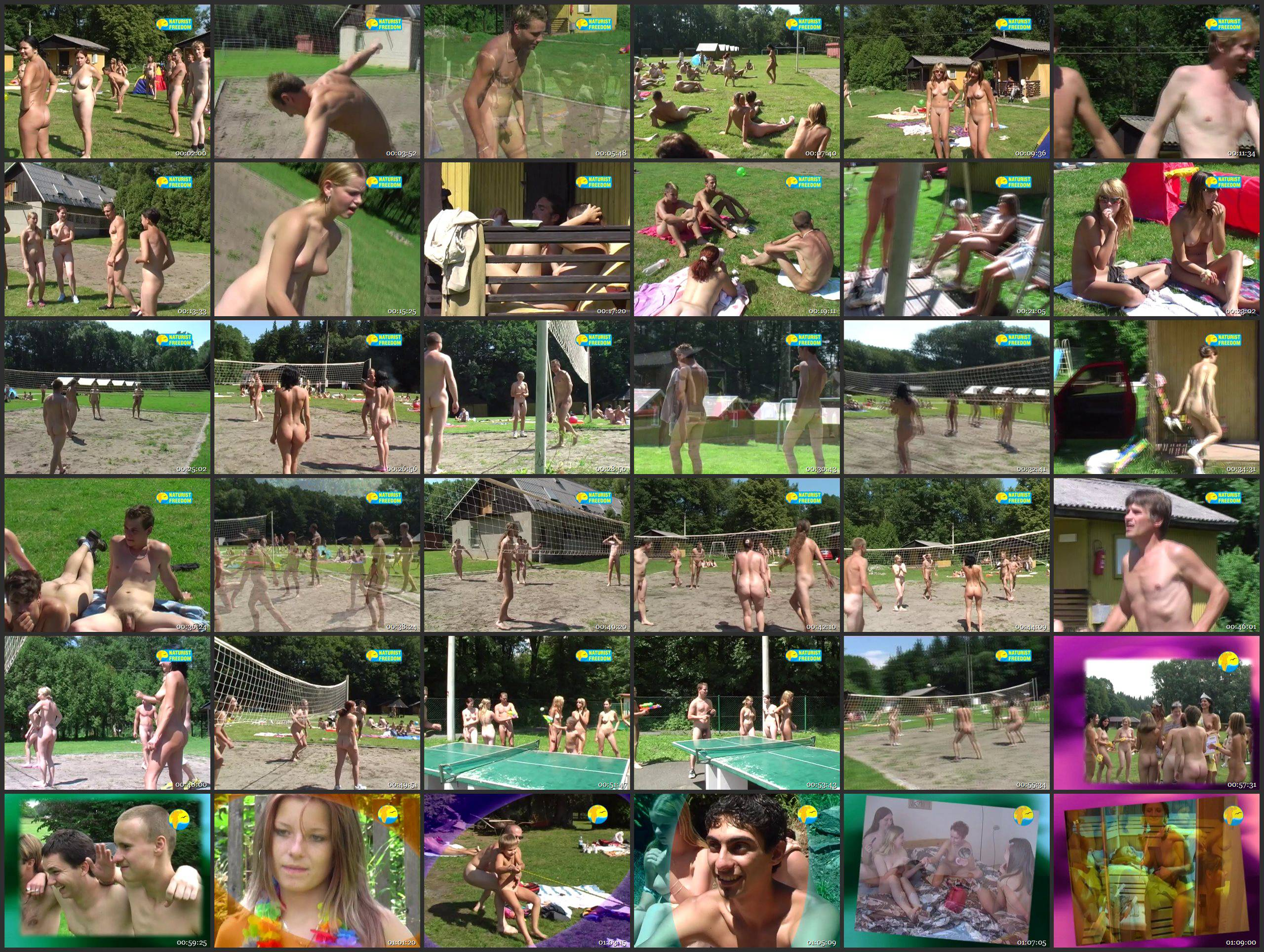 Naturist Freedom Videos-Volleyball - Thumbnails