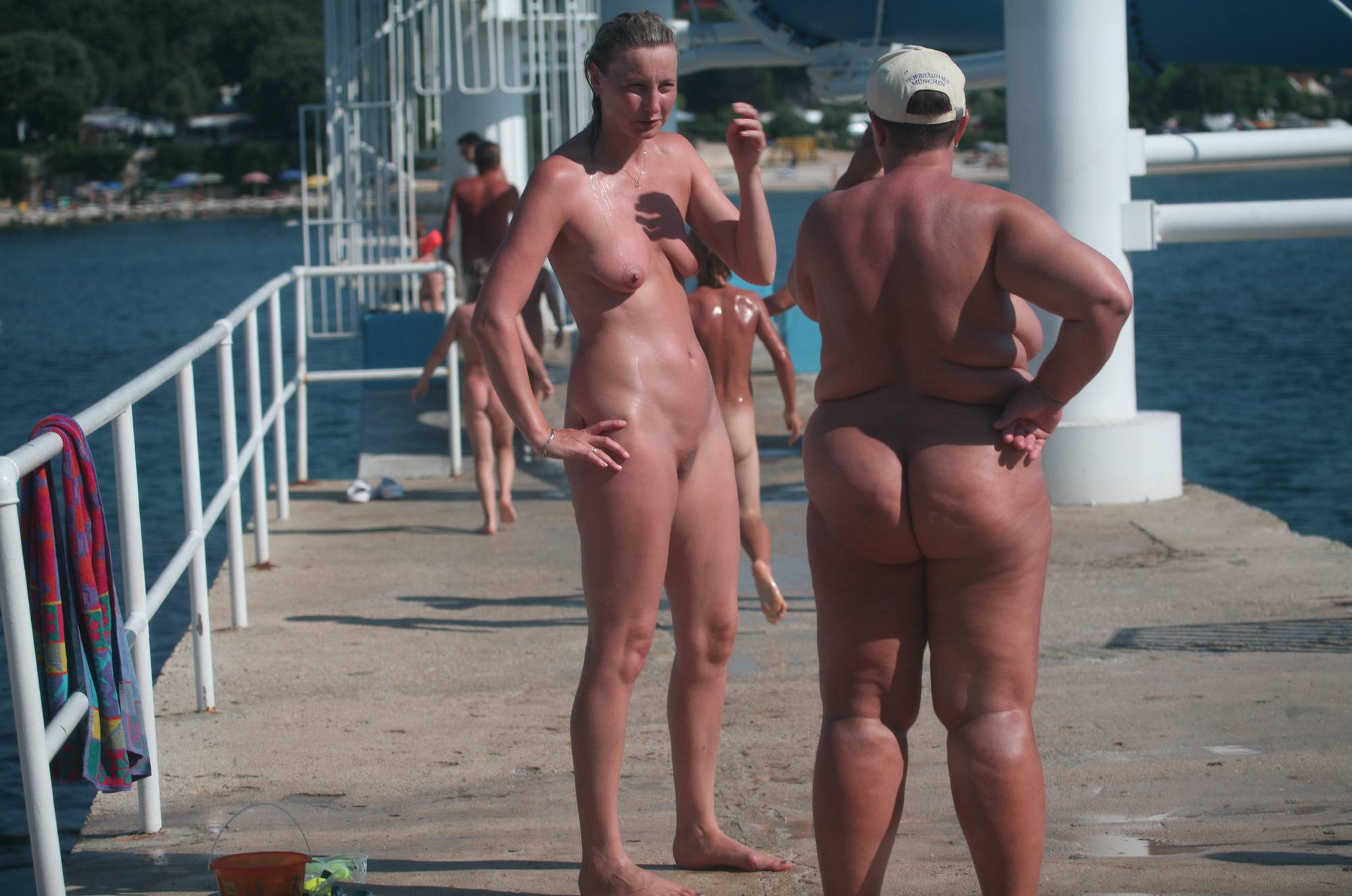 Pure Nudism Pics-Water Park Center Pass - 4