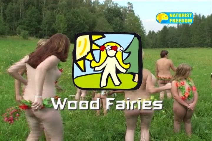 Naturist Freedom Videos-Wood Fairies - Poster