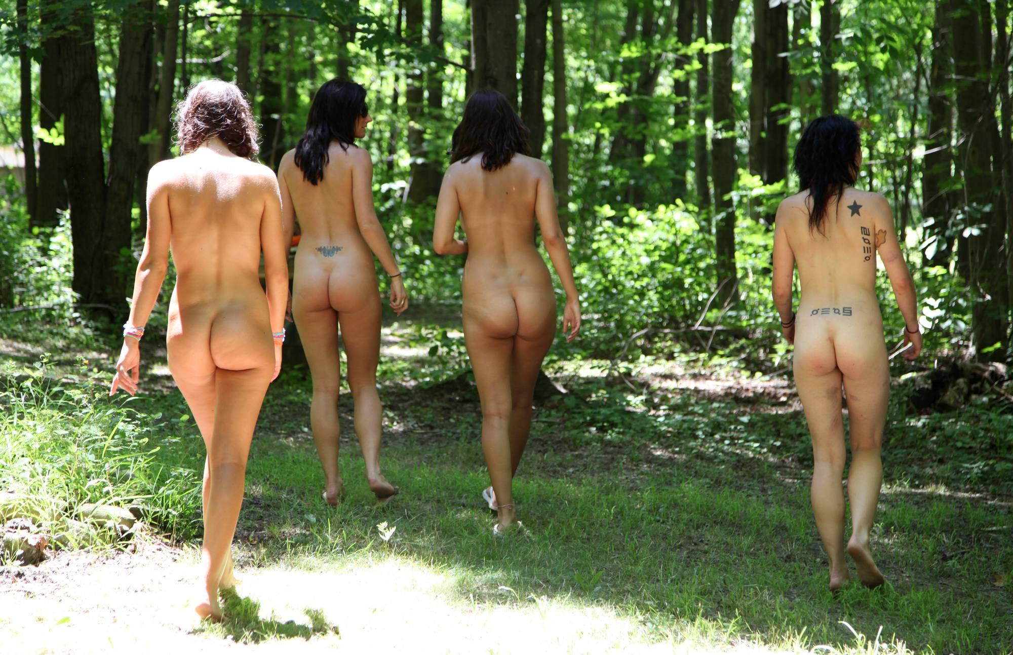 Purenudism Gallery-Woody Hike Of Nature - 1