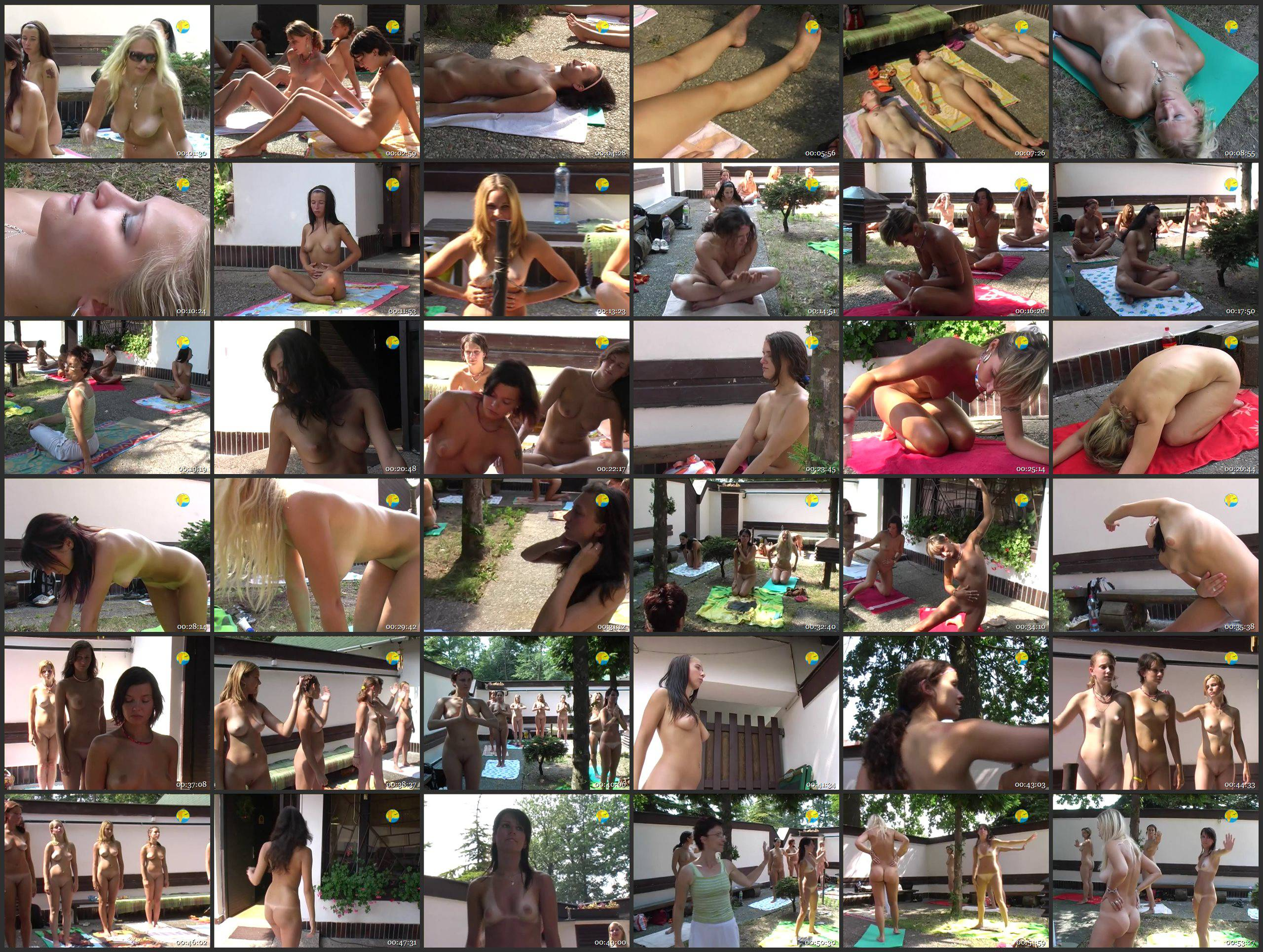 Naturist Freedom-Yoga and the Girls - Thumbnails