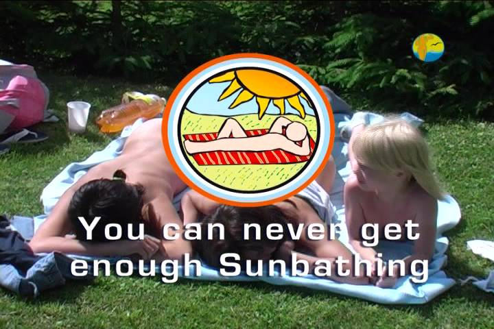 Naturist Freedom-You can never get enough Sunbathing - Poster